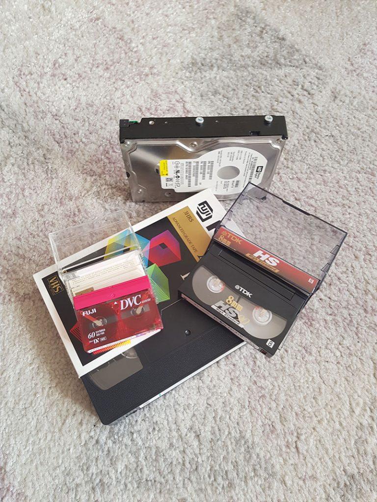 Kopiering av VHS